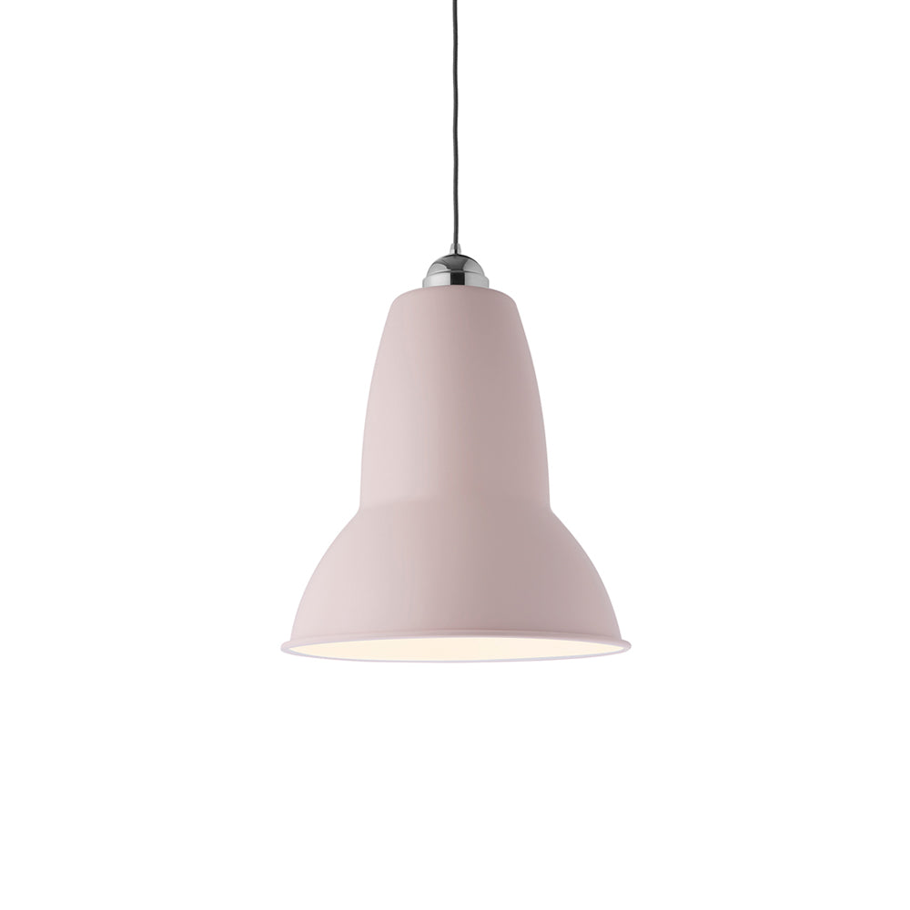 Anglepoise Giant 1227 pendant light in blossom pink from Warehouse Home
