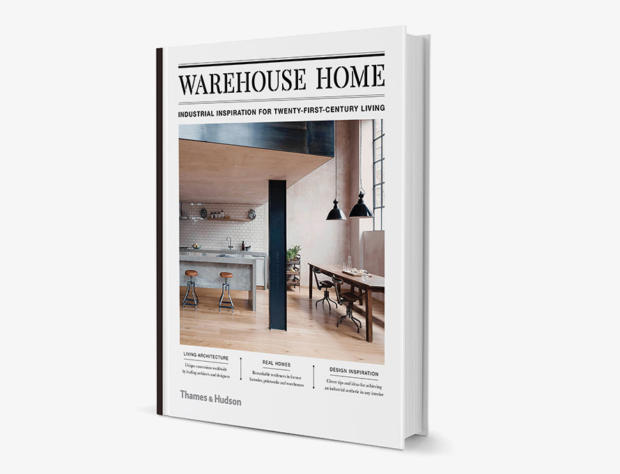 Debut Warehouse Home book published by Thames & Hudson about amazing lofts and warehouse conversions worldwide