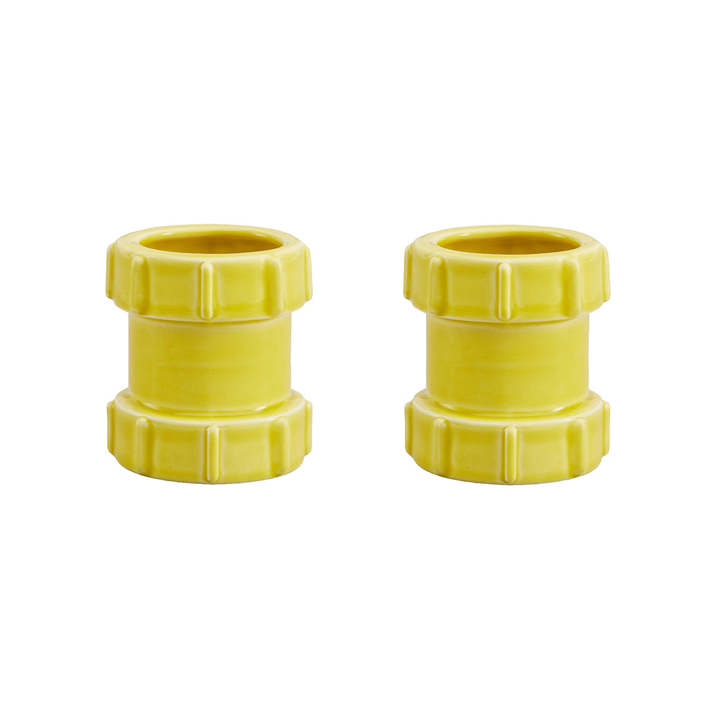 Pipe Egg Cups In Yellow