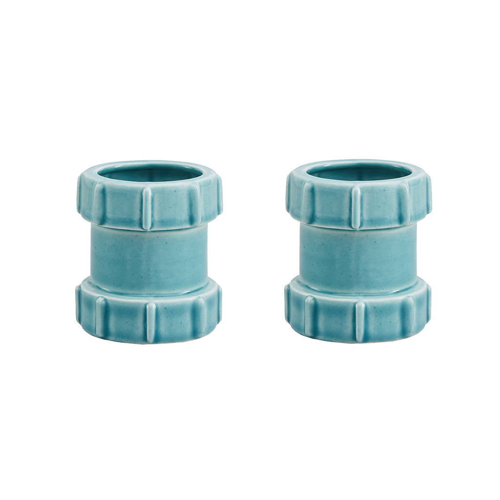 Pipe Egg Cups In Blue