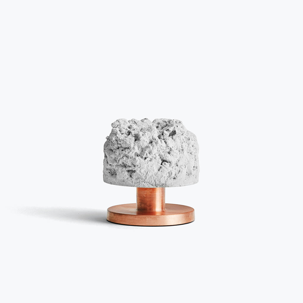 shop-the-rough-stuart-candleholder-in-concrete-and-copper-in-the-warehouse-home-shop