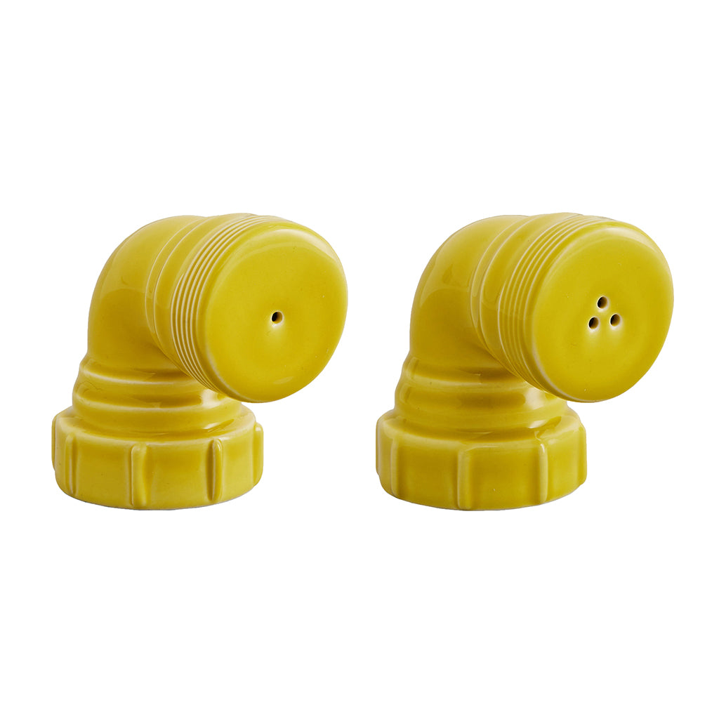 Salt & Pepper Pipes In Yellow