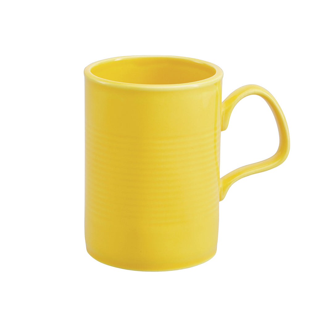 Tin Can Large Mug In Yellow