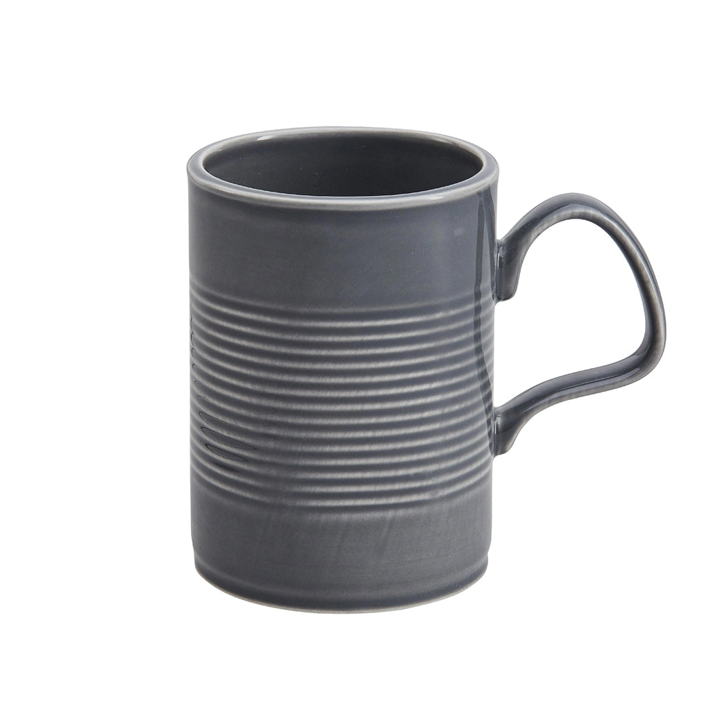 Tin Can Large Mug In Grey