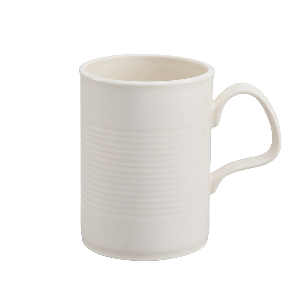 this white corrugated mug with handle from stolen form is available to purchase from the warehouse home shop