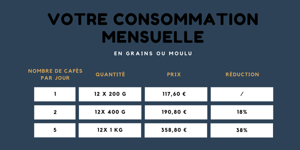 Consommation 12 mois