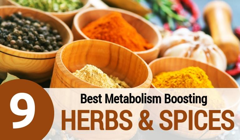 Top Metabolism Boosting Herbs & Spices (Plus a Super-Charged Curry Recipe!)