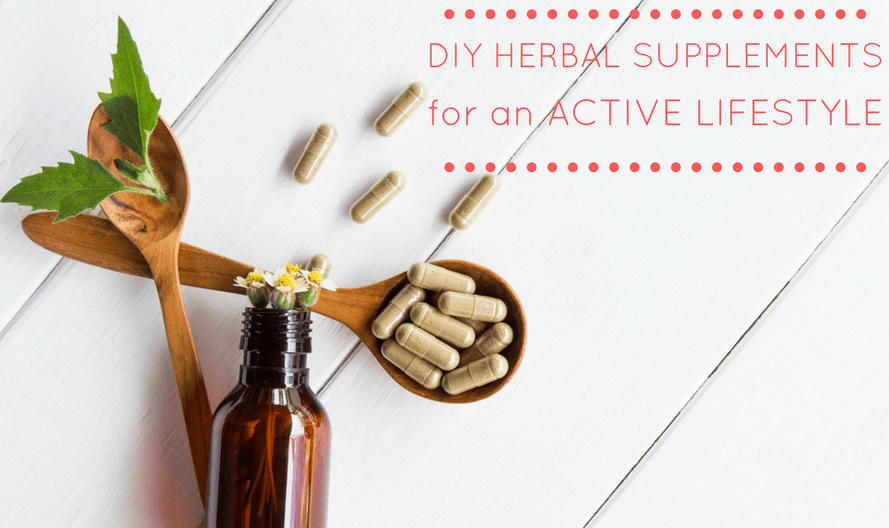 3 DIY Herbal Supplement Formulas to Support an Active Lifestyle