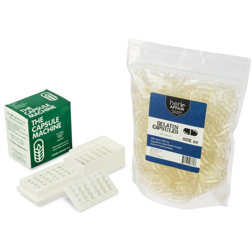 The Capsule Machine Complete Gelatin Kit