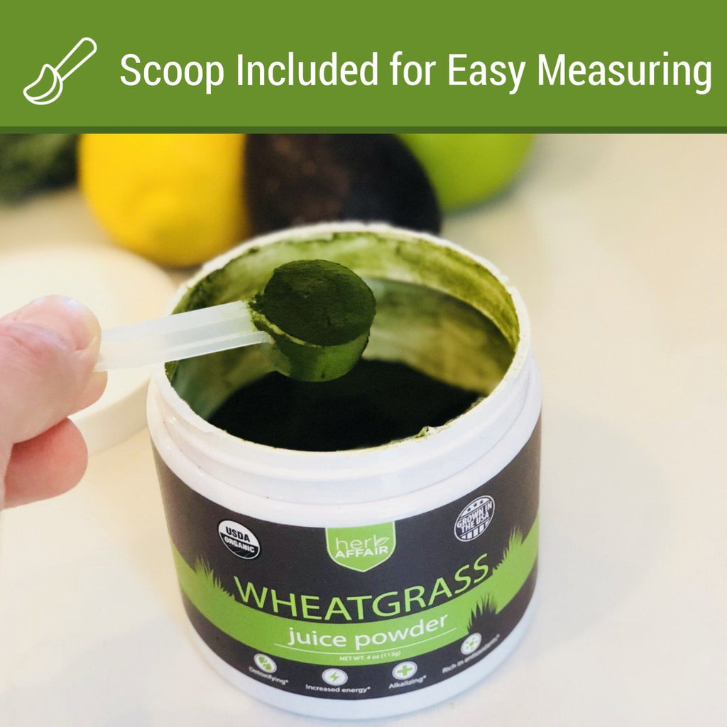 Wheatgrass Juice Powder, organic (45 Servings)