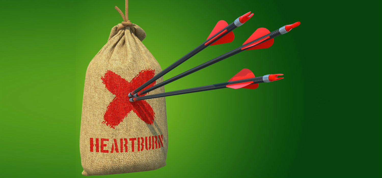 Kill the heartburn with natural remedies