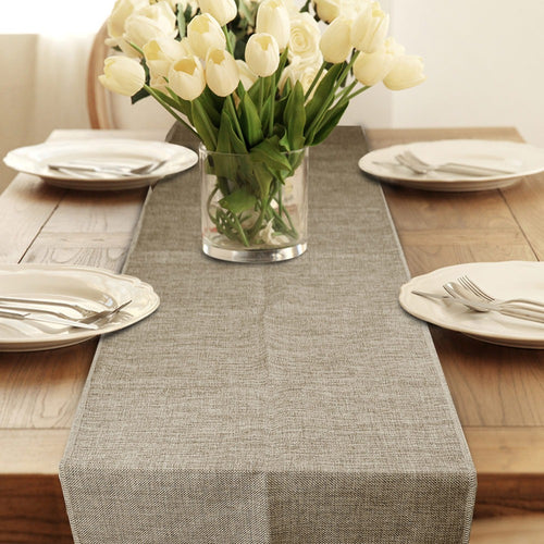 Chemin de table jute naturelle 35x182cm/35x275cm/35x396cm