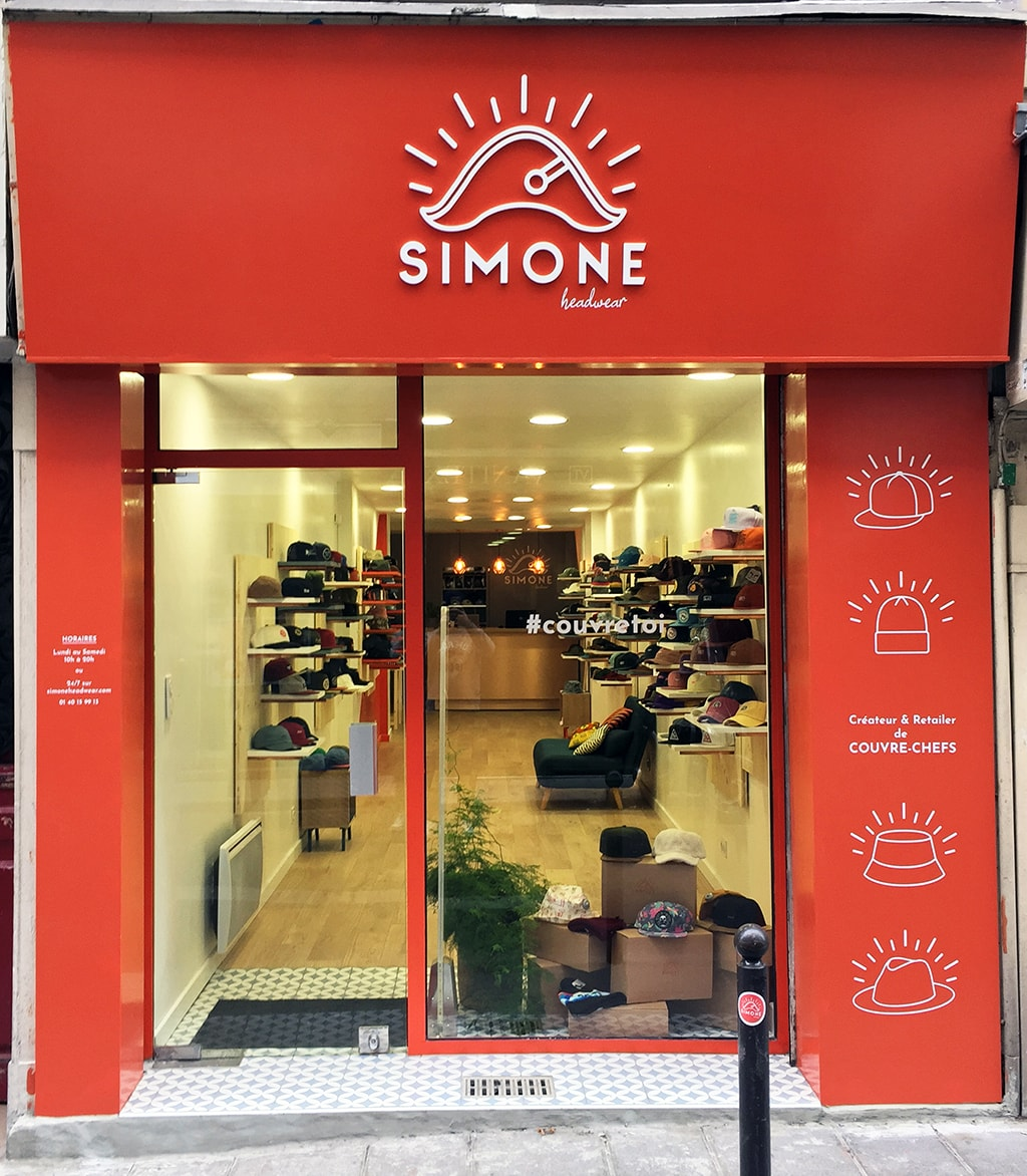 Boutique Simone Headwear Paris