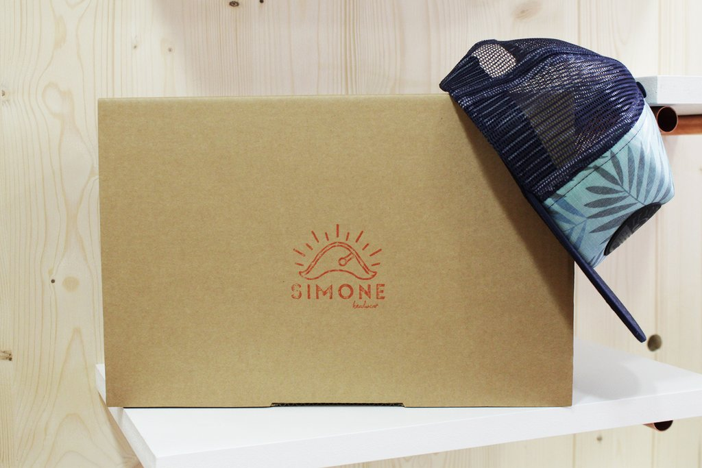 Packaging Simone Headwear