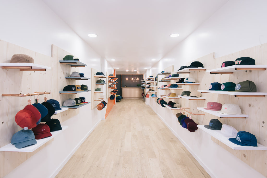 Simone Headwear boutique Paris