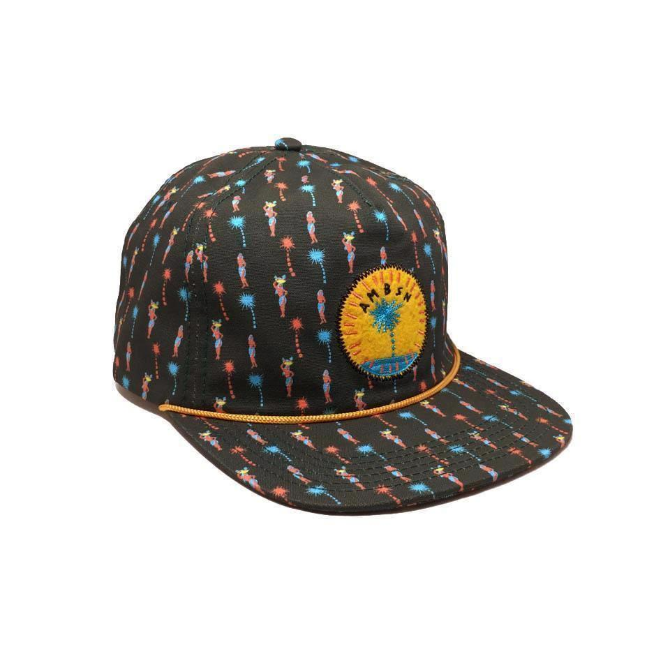 Casquette AMBSN California Lonepalm Charcoal Gris Motifs