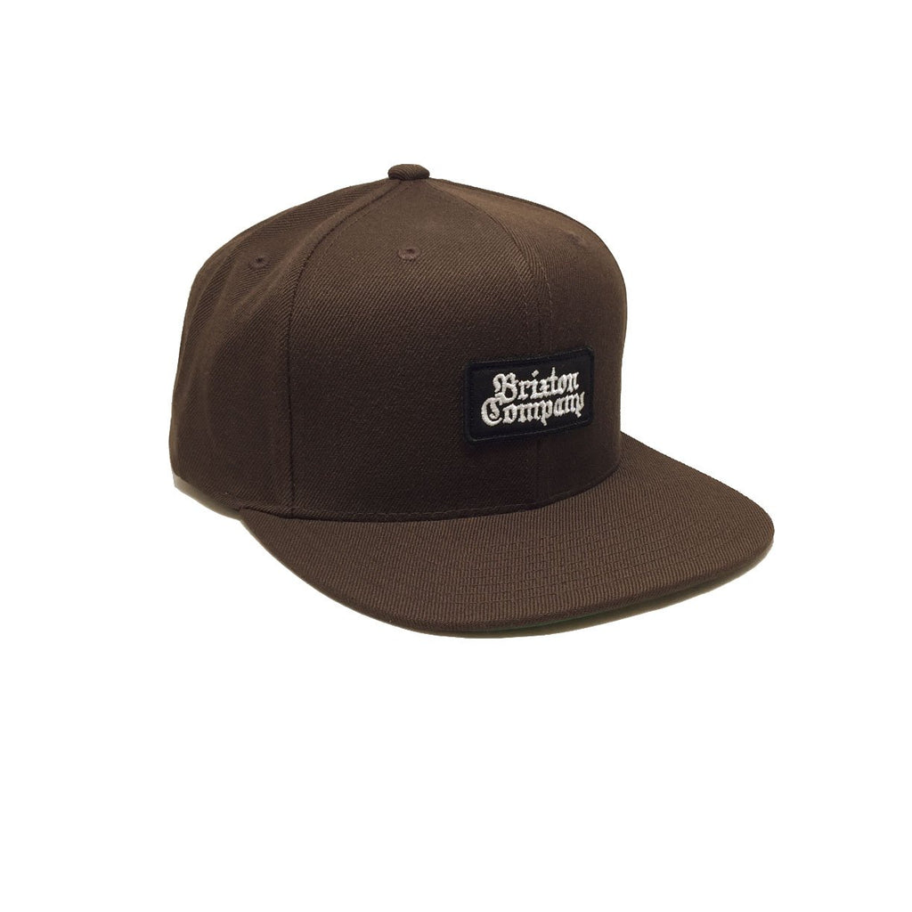 Casquette marron Brixton Boyle Brown