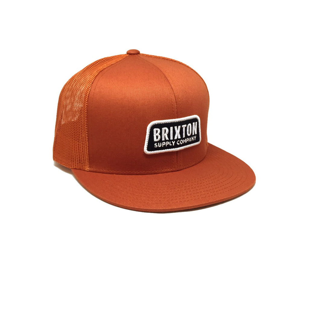 Casquette Brixton - Motive Mesh Burnt Orange