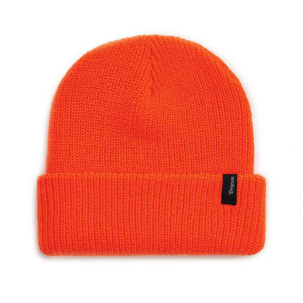 Bonnet Brixton Heist Blaze Orange Fluo