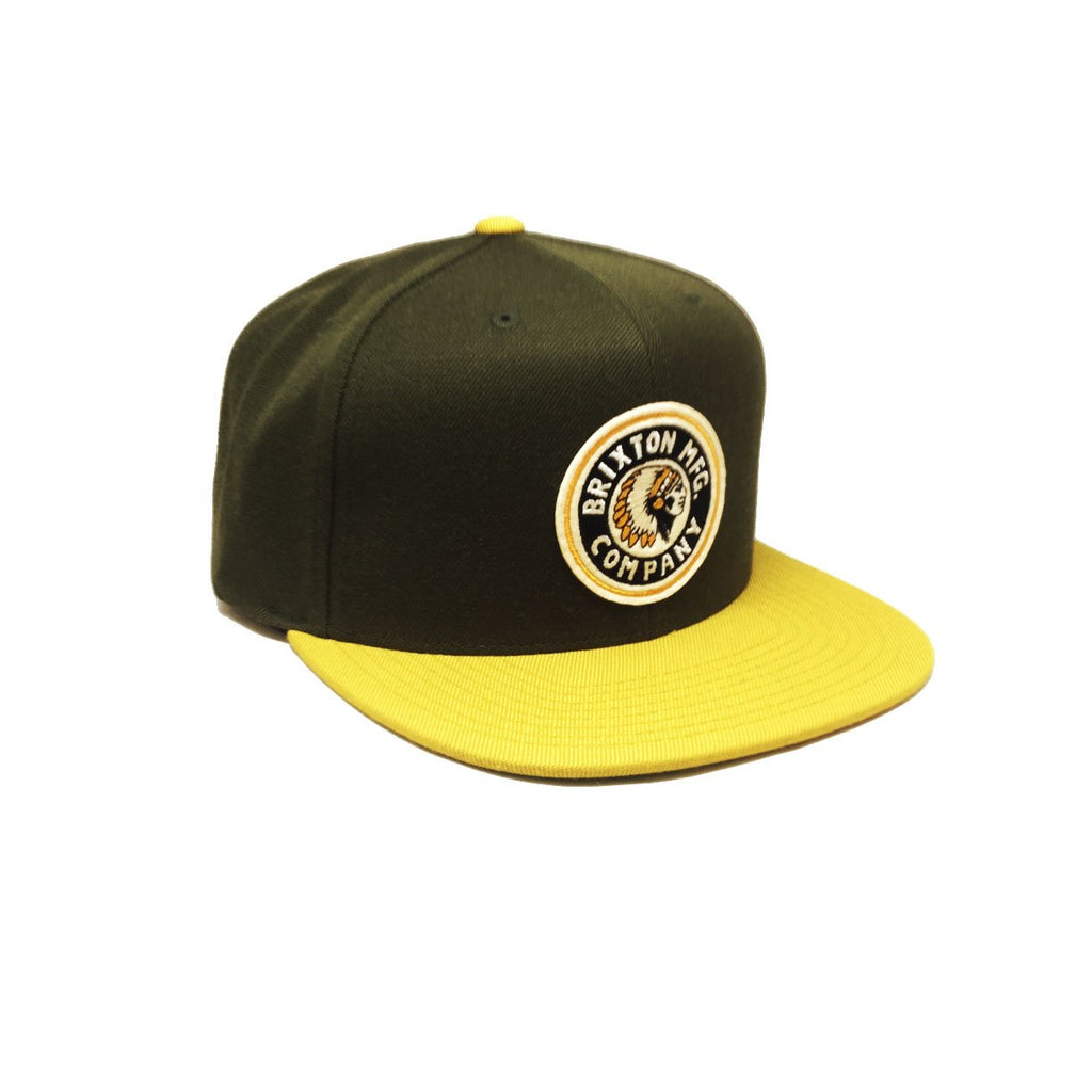Casquette Brixton - Rival Hunter Green