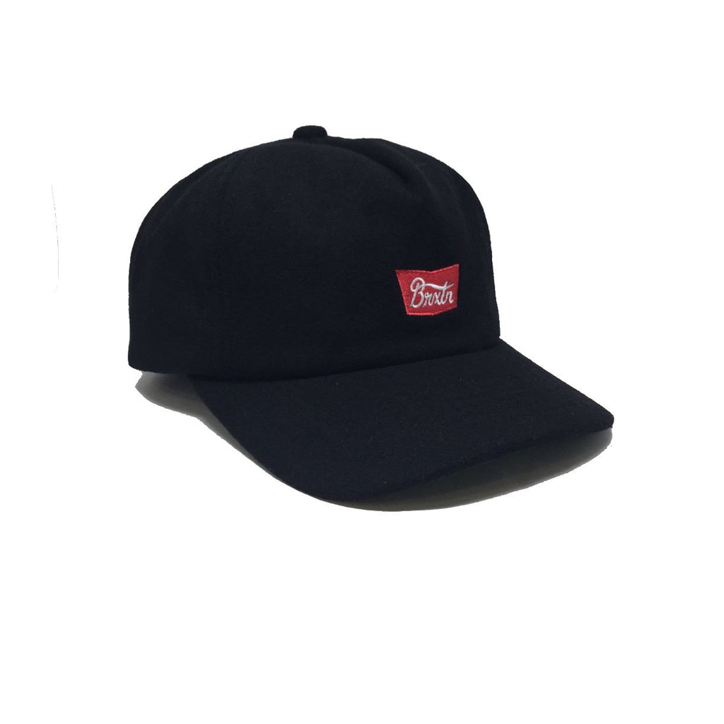Casquette laine Brixton Stith Hunter Black Noir