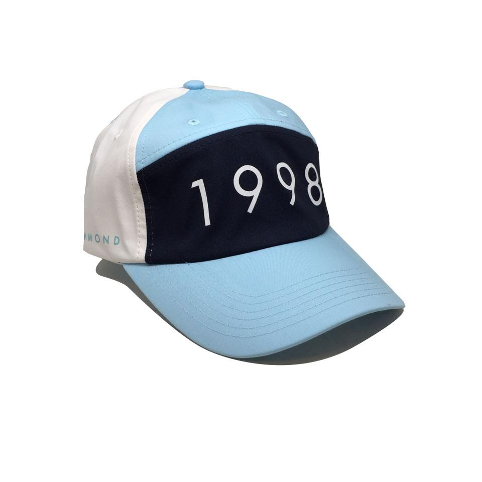 Casquette Diamond 1998 Sports Hat Powder Blue Bleu Ciel Bleu Marine Blanc