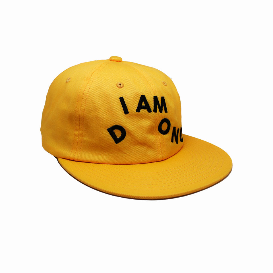 Casquette Diamond I AM Yellow Jaune