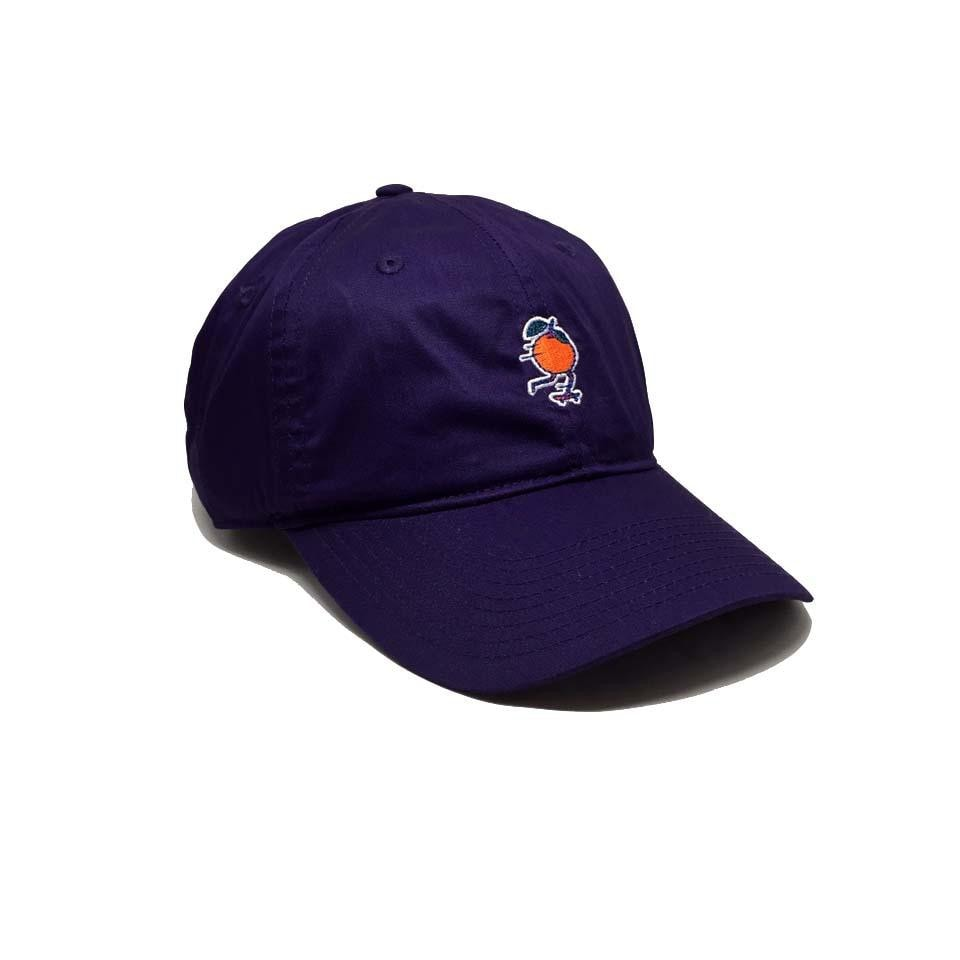 Fluky Dad Cap Aura Purple Violet Orange Element - Casquette