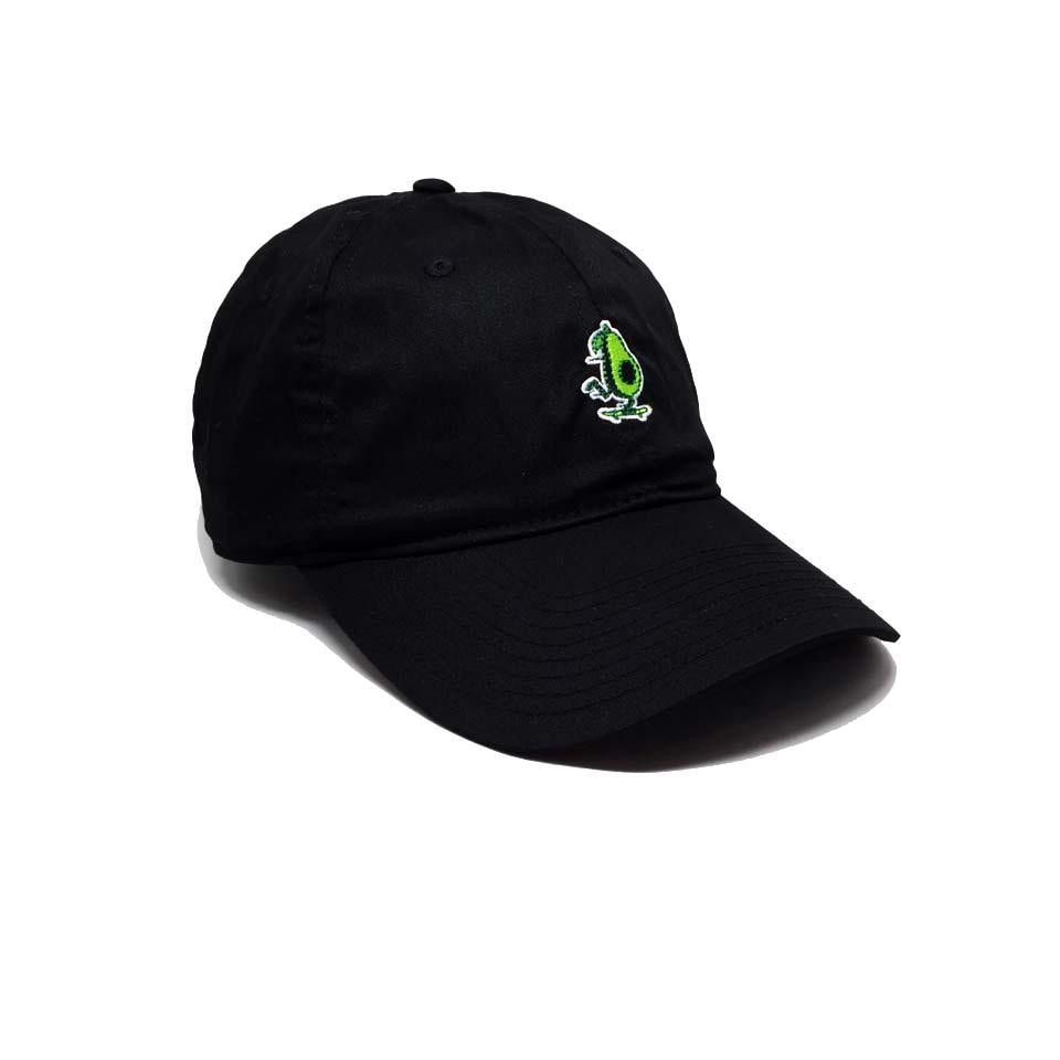 Fluky Dad Cap Black Noir Avocat Element - Casquette