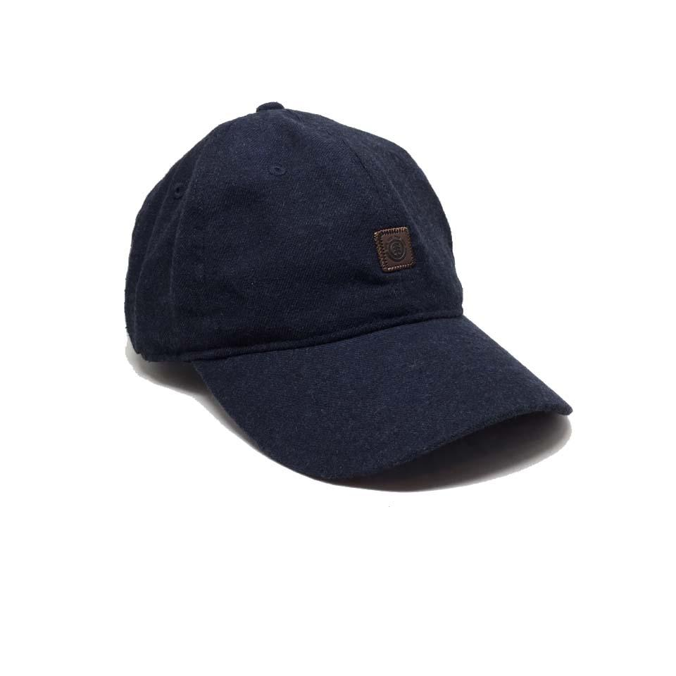 casquette element jean Fluky Dad Cap Dark Denim