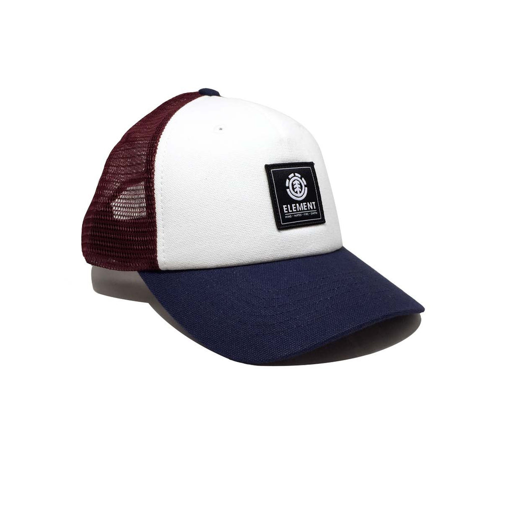 Casquette Element - Icon Mesh Cap Oxblood Bleu blanc rouge