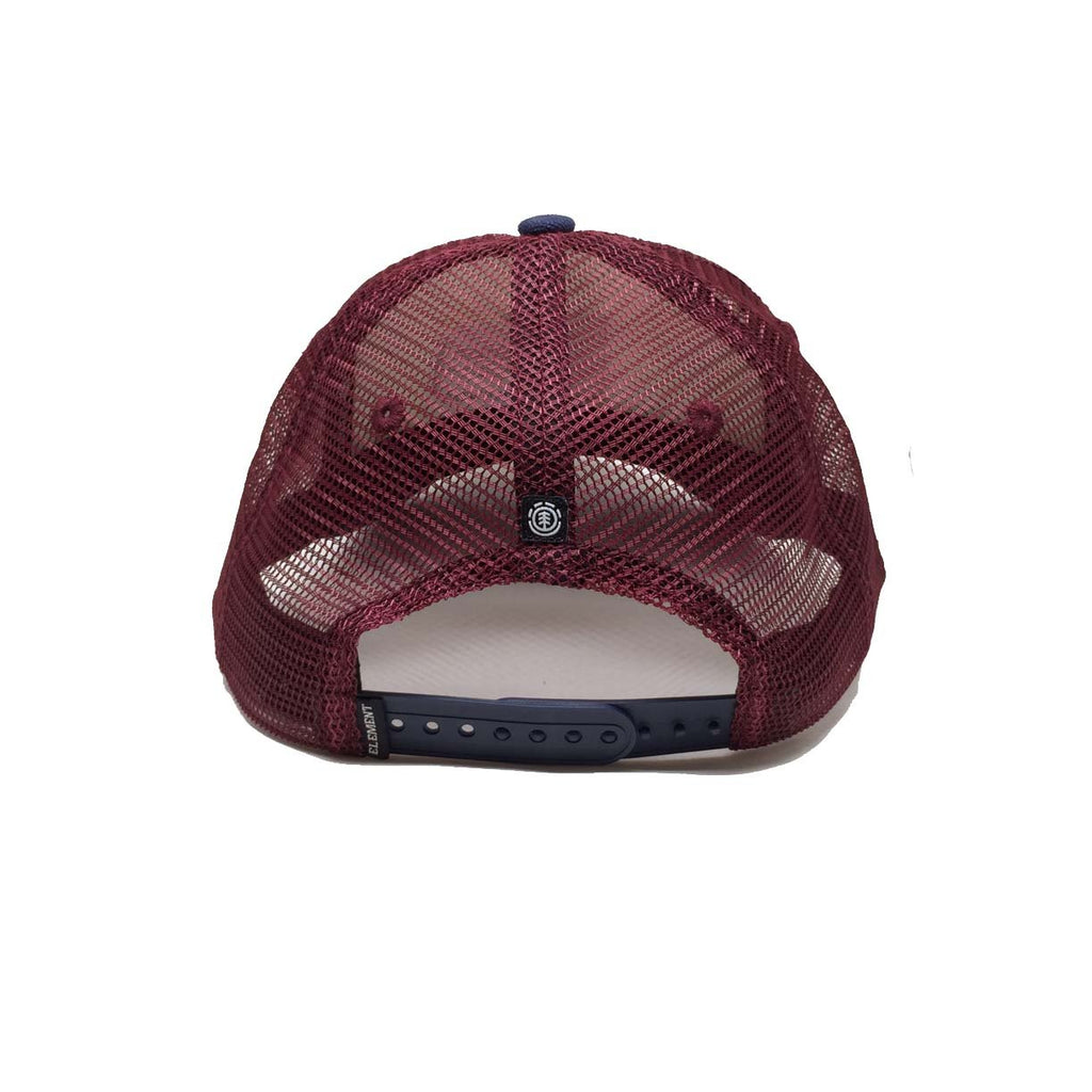Element Icon Mesh Cap Oxblood Red