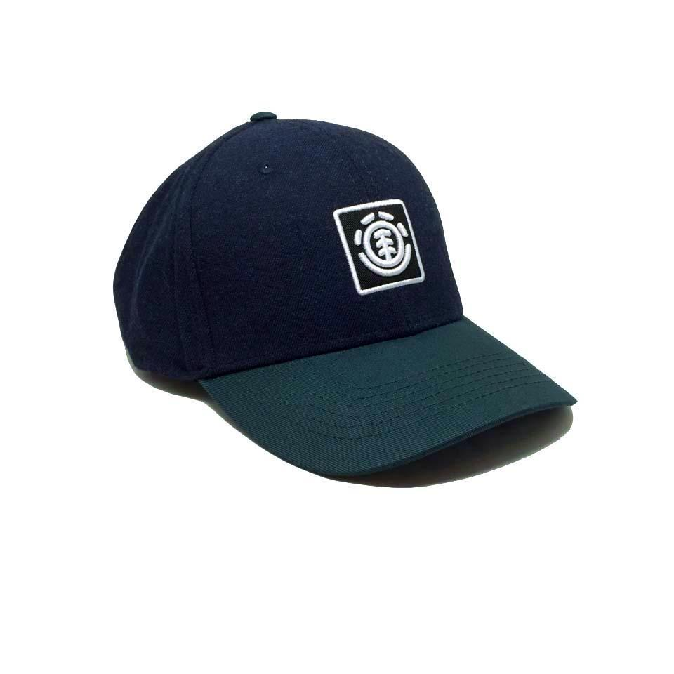 Casquette Element bleu vert Treelogo Eclipse Heather