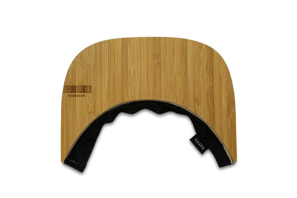 Visière Bambou - Casquette Guapa - Wood Bamboo Visor