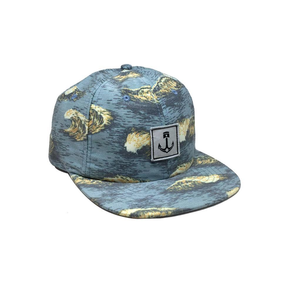 Casquette Iron and Resin Bonzai Hat Sea Blue Bleu