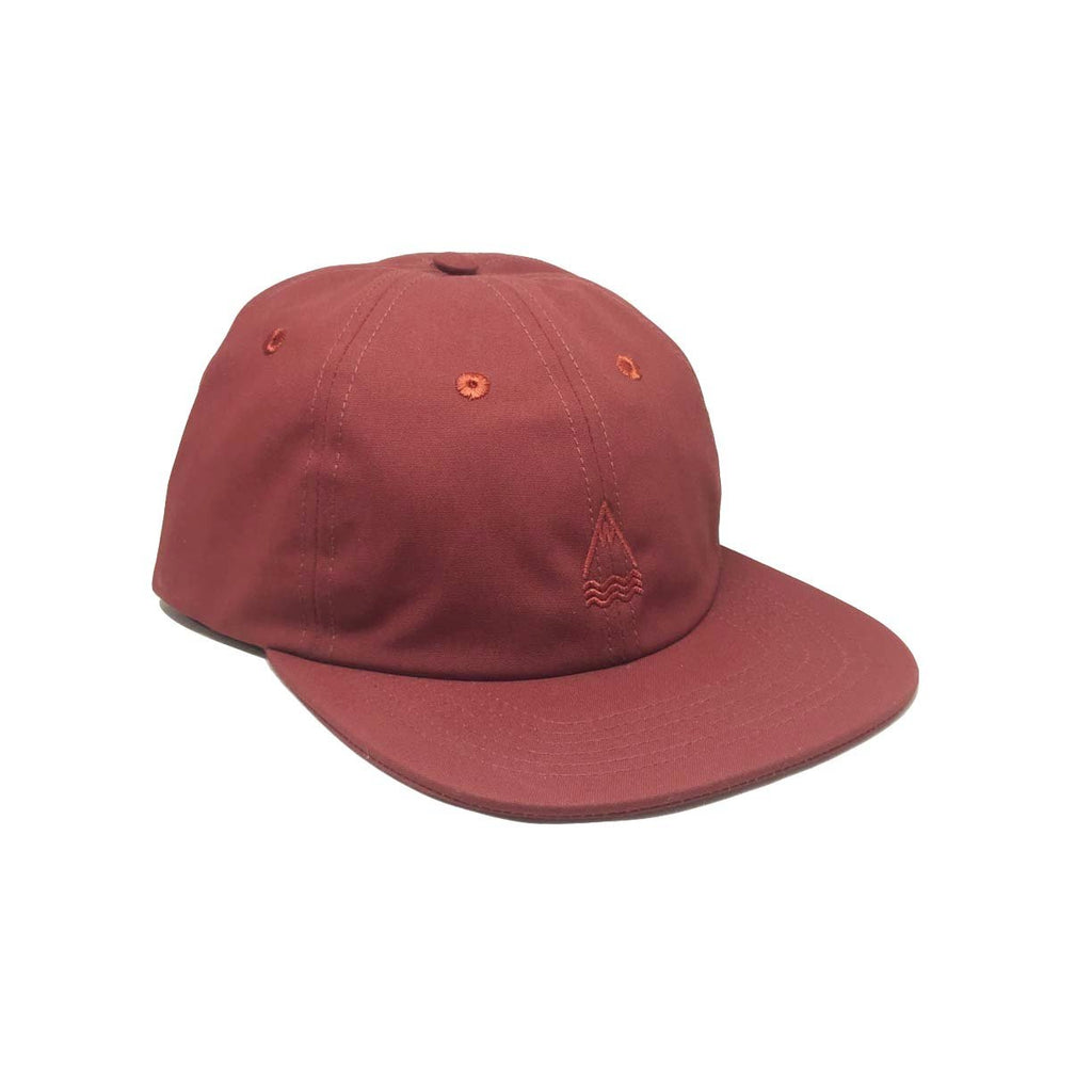 Casquette Laser Barcelona Llacuna Polo Wine Rouge