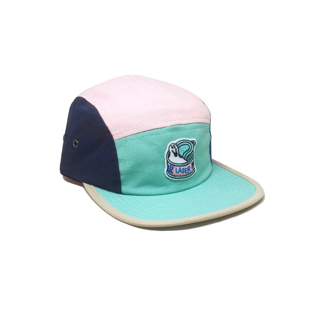 Casquette Laser Barcelona Rawal Artist Series x Sawe 5 Panels