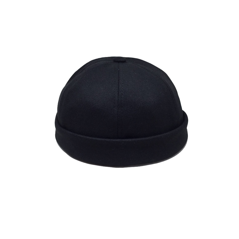 Miki Bonnet Marin Sailor Beanie Noir Black