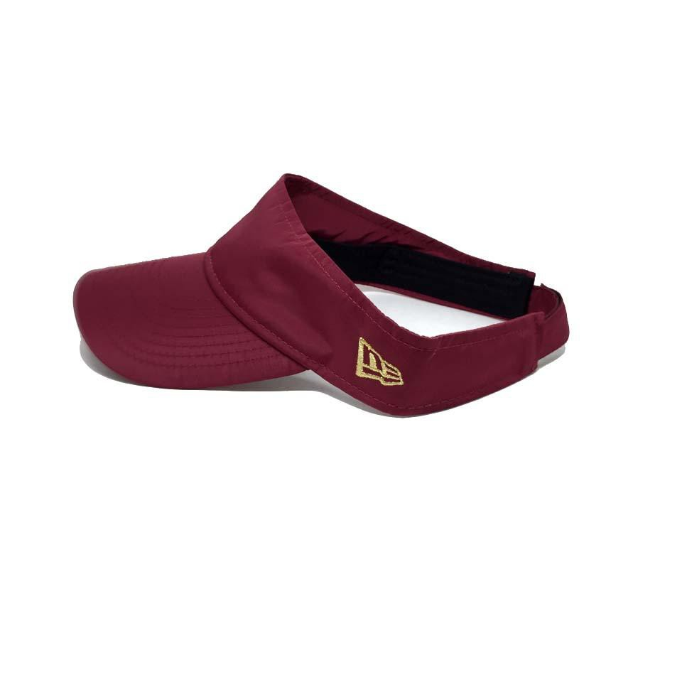 New Era Sport Visor Women Burgundy