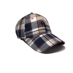 Casquette New Era Écossais beige - Spring Plaid Yankees 9Forty