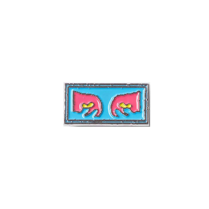Pin's Obey - Eyes Pin Blue Multi