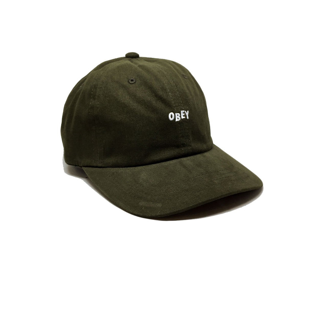 Casquette vert Obey - Jumble Bar III Army