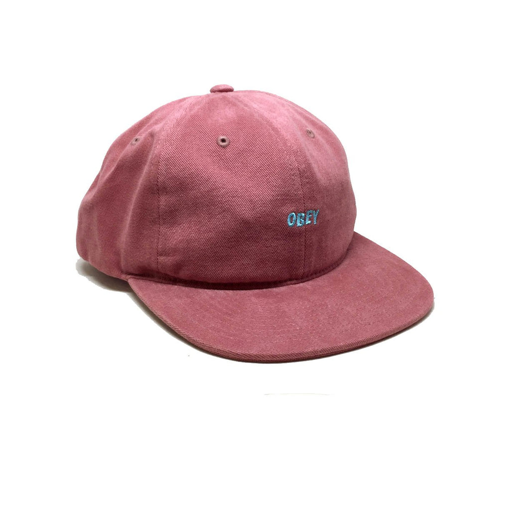 Casquette Obey New Deal Dusty Red