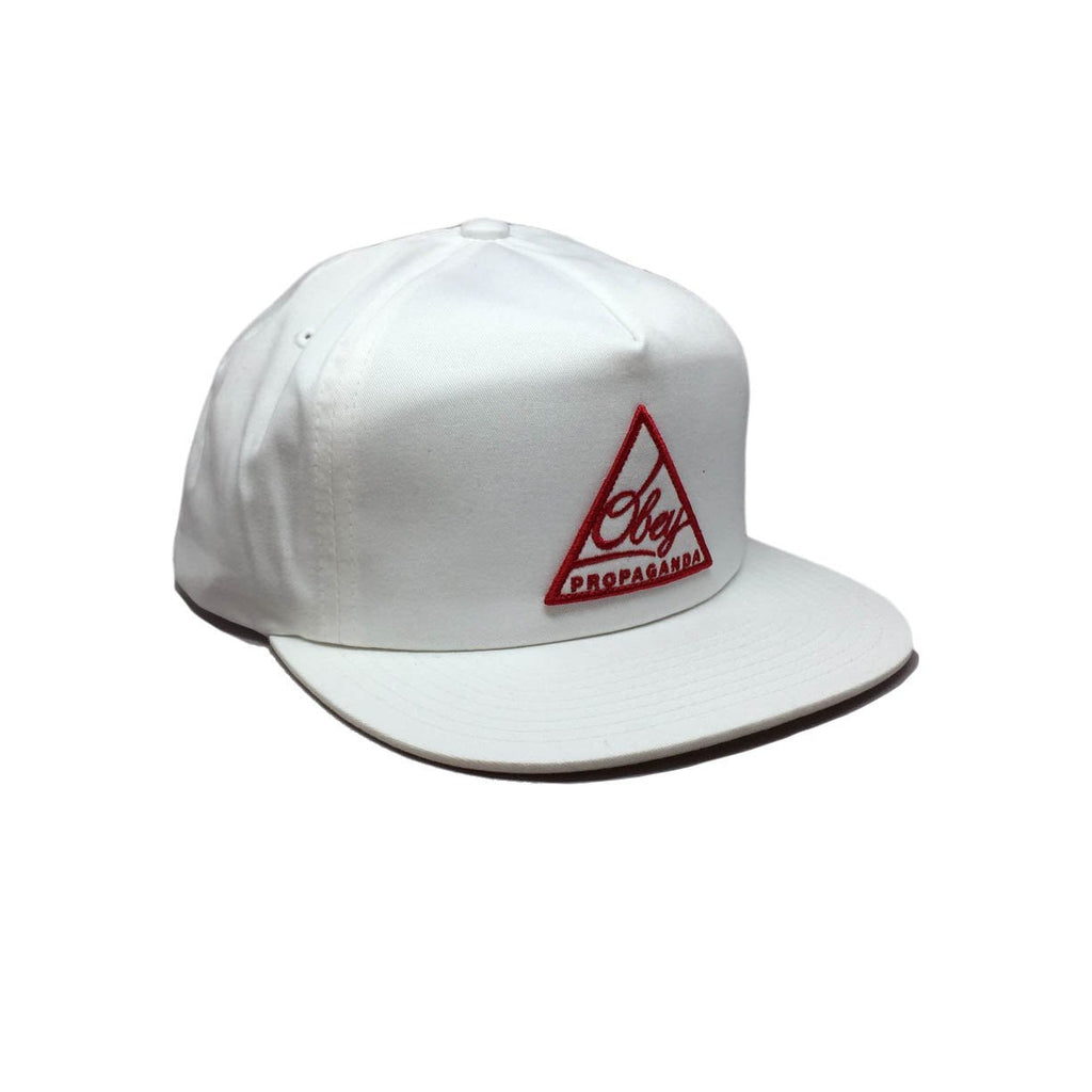 Casquette obey blanche New Federation II White