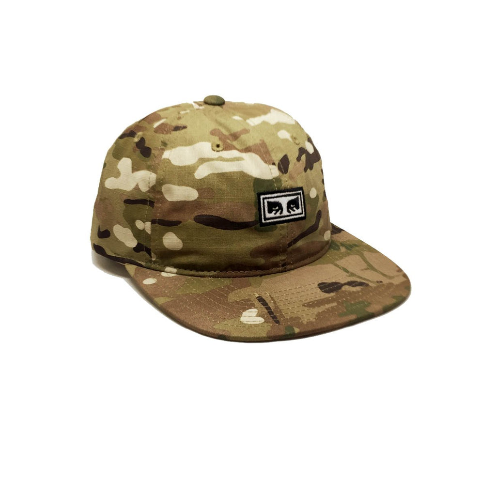 Casquette camouflage Obey Overthrow Desert Camo