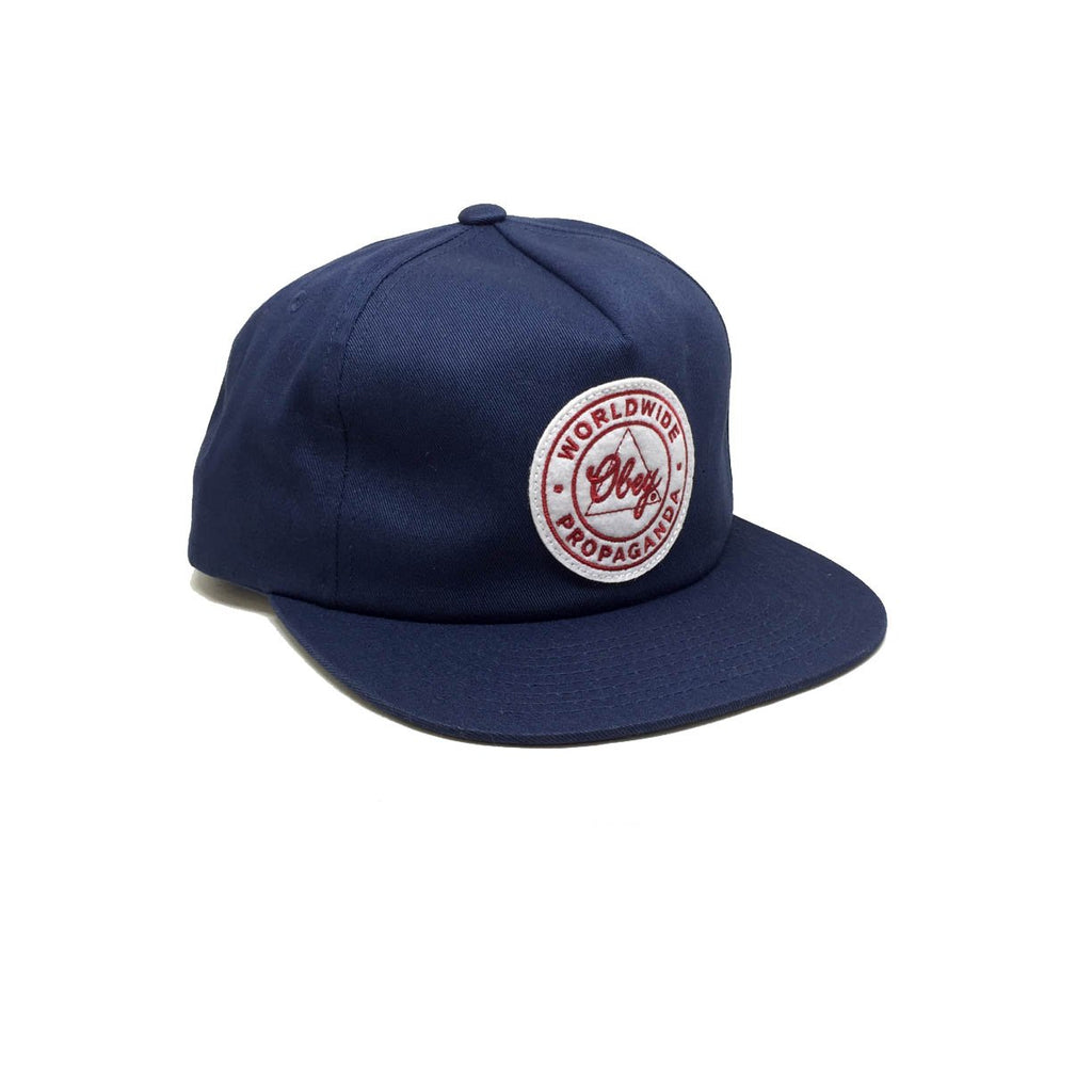 Casquette Obey Bleu - Paramount Navy
