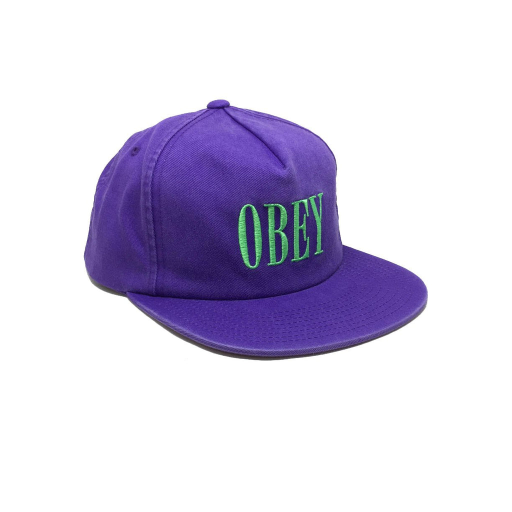 Casquette violet obey - Polly Purple