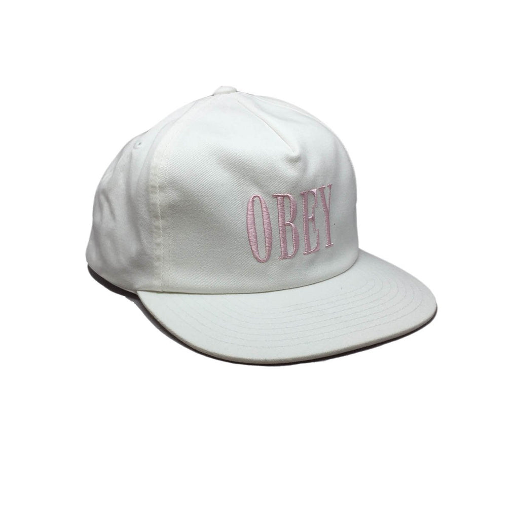 Casquette Blanche Obey - Polly White