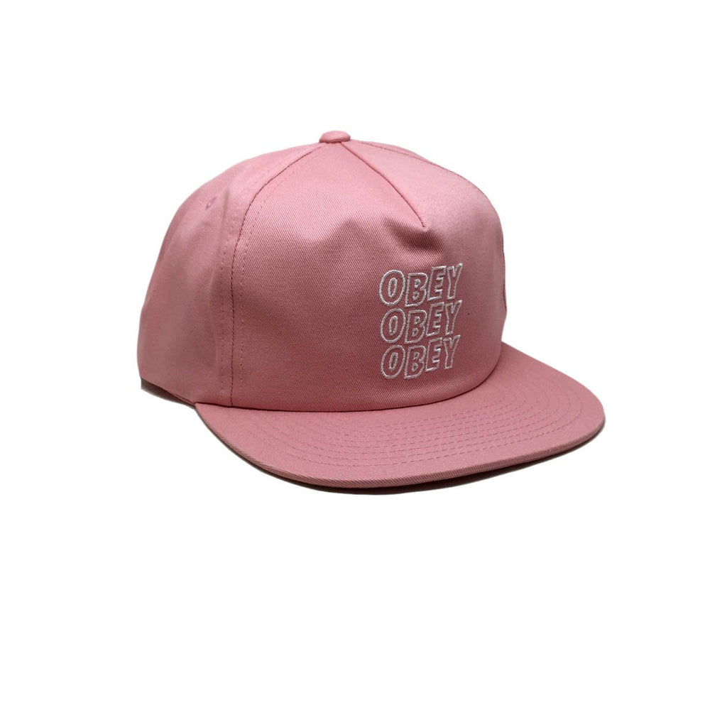 Repetition Pink Rose Obey - Casquette