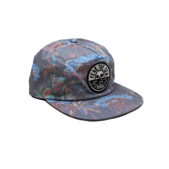 Casquette Roark Fear The Sea Navy Imprimé Multicolor